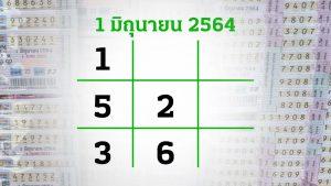 เลขเด็ดไทยรัฐ 1 มิย 64